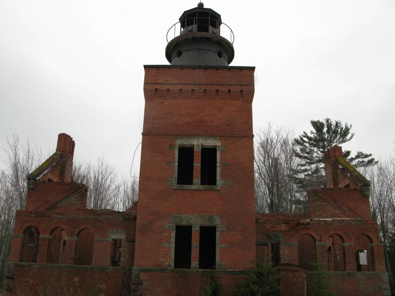 The Abandoned Lighthouse of 14 Mile Point