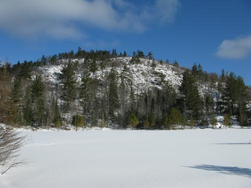Imposing south face of Bald Mountain