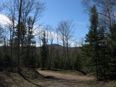 Mount Houghton, just southwest of the parking area