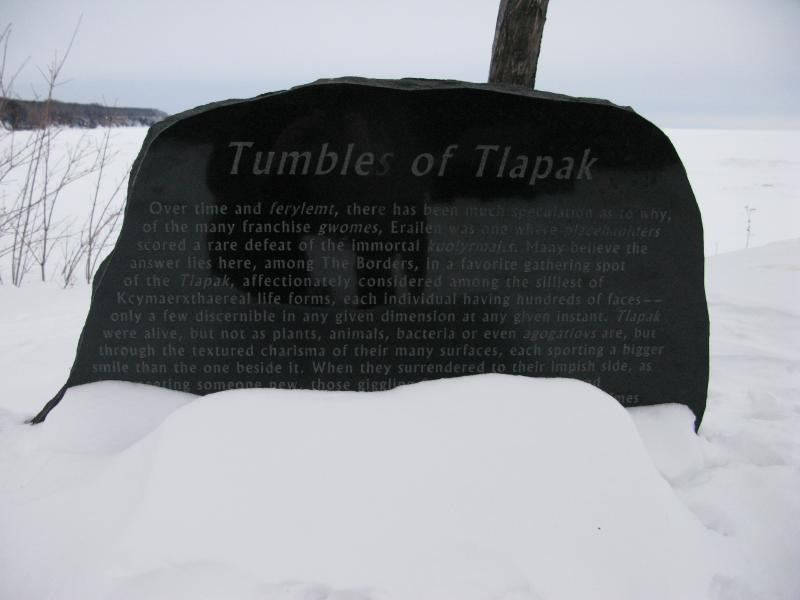Confusing plaque about Tlapak