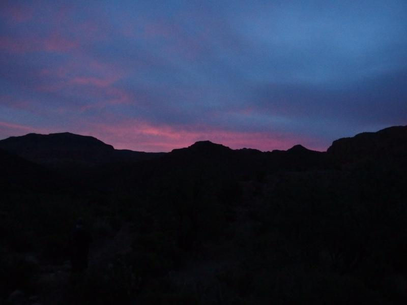 Cool colors over the Superstitions