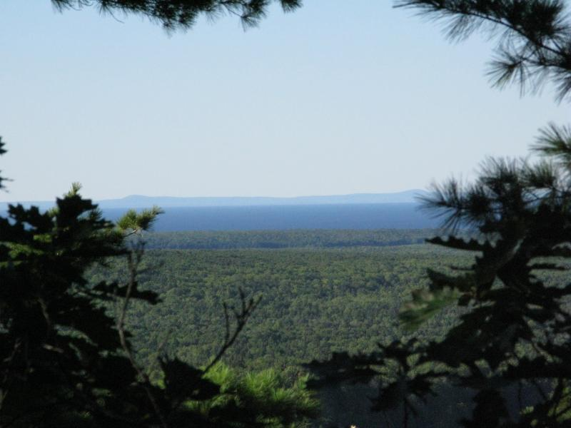 Limited view of the Keweenaw Peninsula