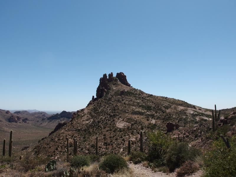 The north side of Miner's Needle