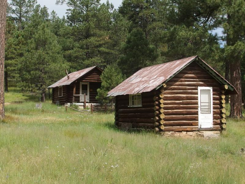 Two cabins at Buck Springs