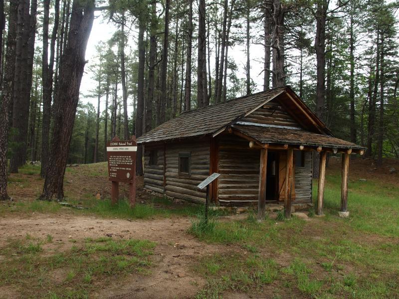 The little General Springs Cabin