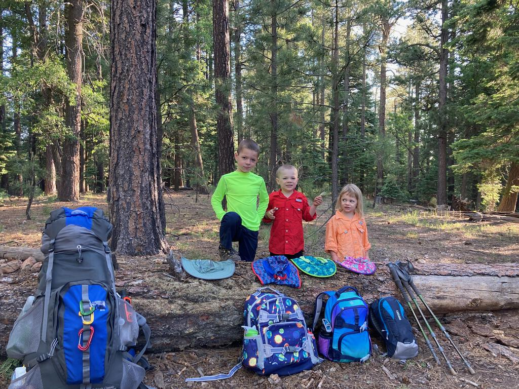 Blog | First Kid Backpack - Cabin Loop
