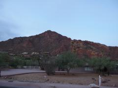 Predawn light over Camelback Mountain