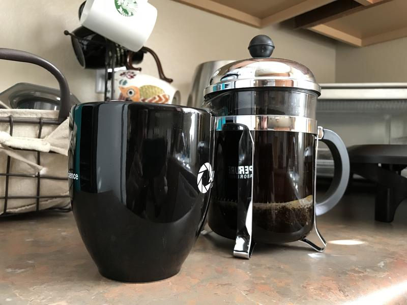 An old favorite, the French Press