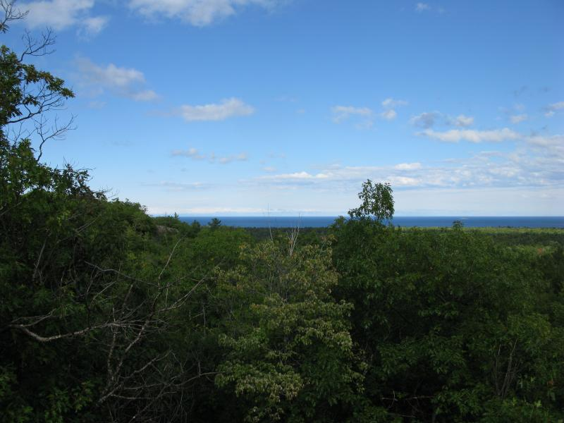 North up to Lake Superior