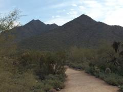 Gateway Mountain and trail