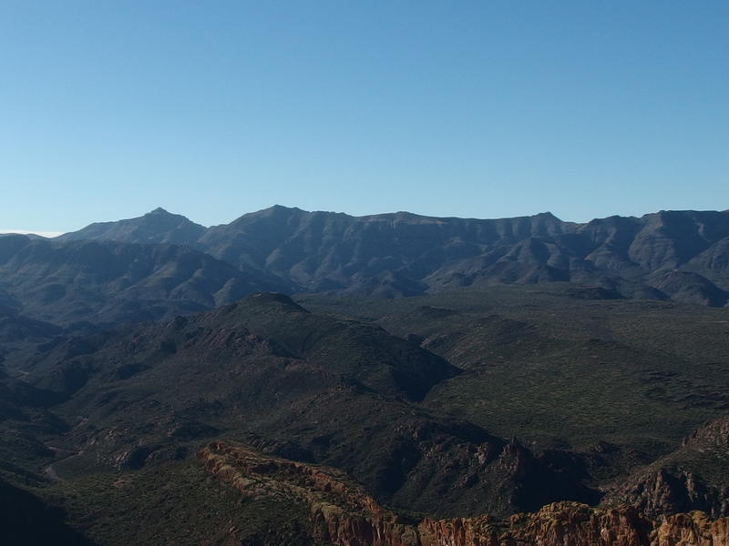 South Peak of the Superstition Ridgeline