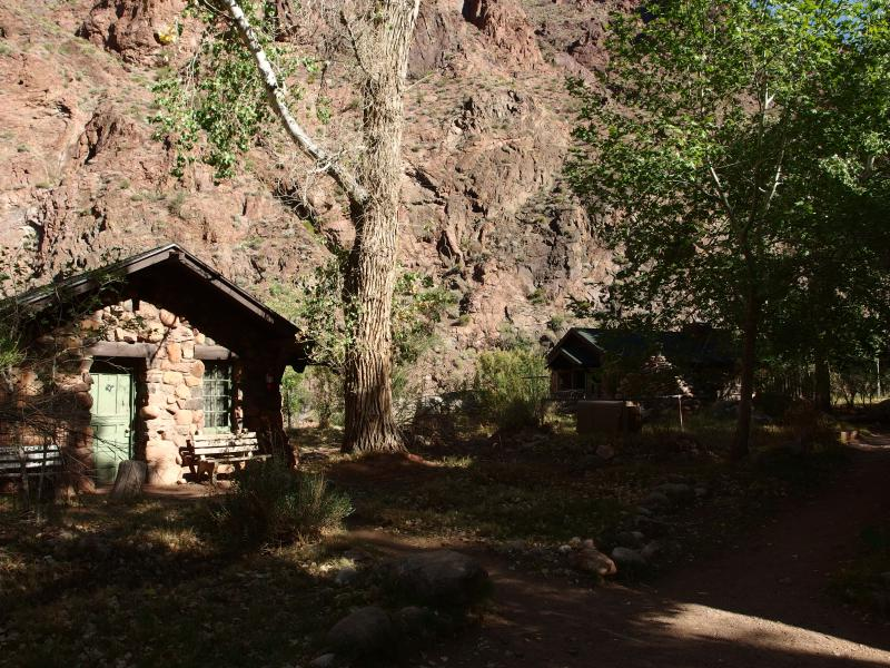Small buildings of Phantom Ranch