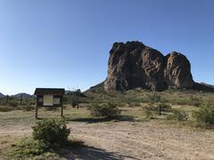 Courthouse Rock at the Trailhead