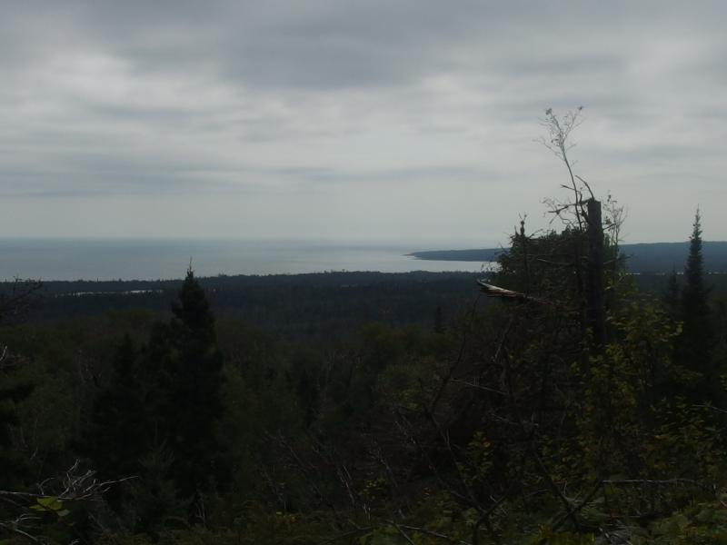 Looking south towards Saginaw Point and beyond
