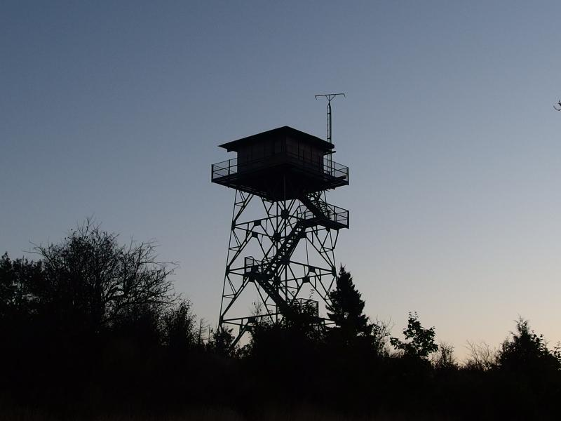 Observation tower on Feldtmann Ridge