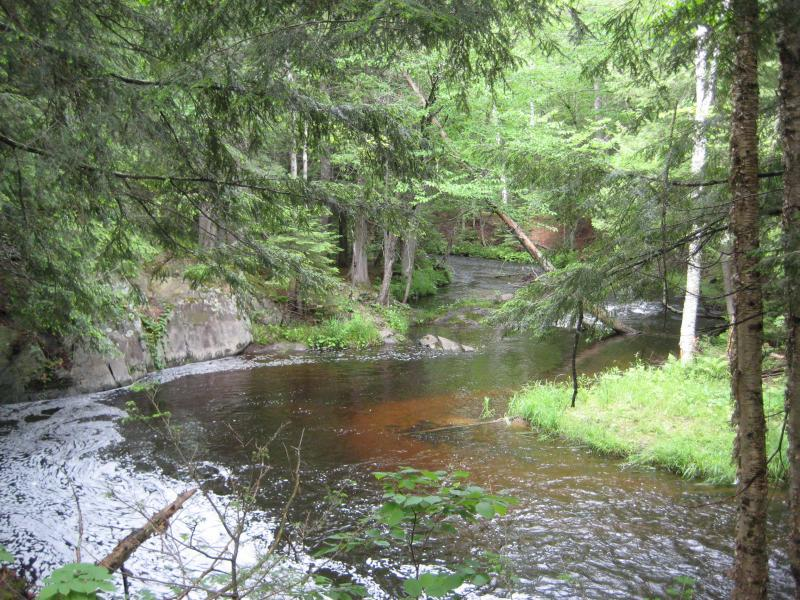 Ontonagon River near Jumbo Falls