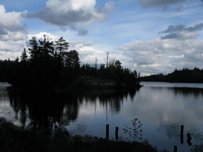 The island on White Deer Lake