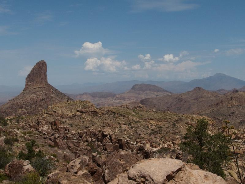 From Four Peaks to Weaver's Needle