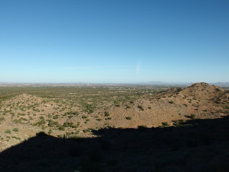 Looking towards Phoenix