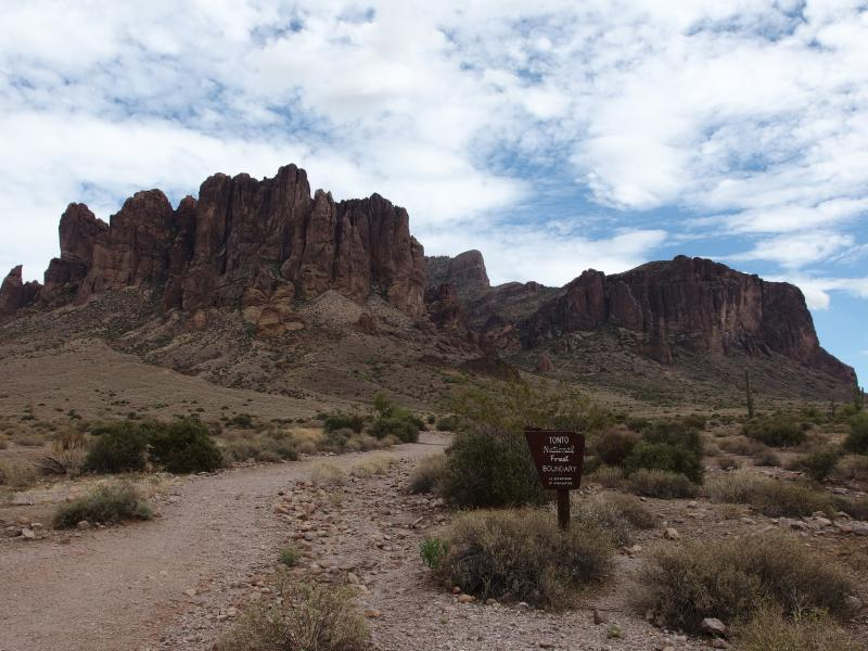 Another humbling view of the Superstitions