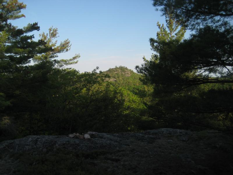 One of the peaks near Tick Mountain