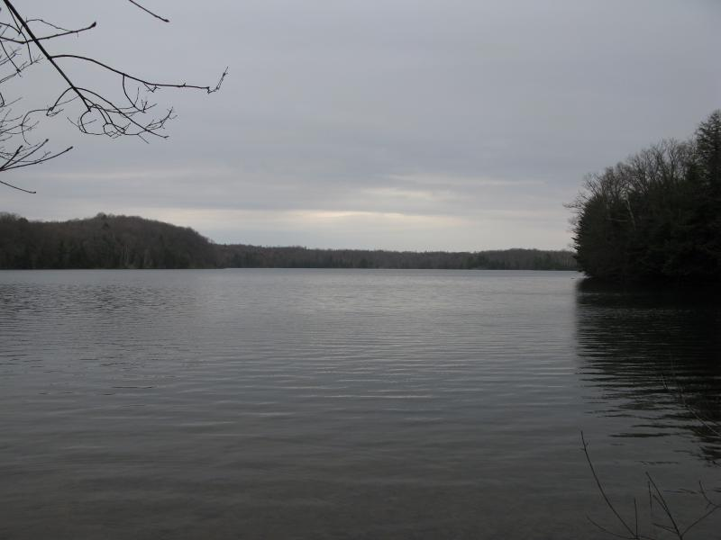 First view of Lake Sally