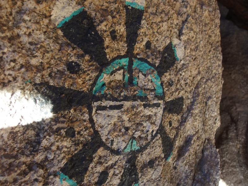 Cool rock painting