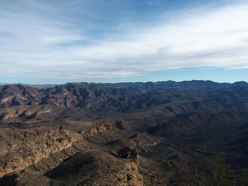 Big view of the eastern Superstitions