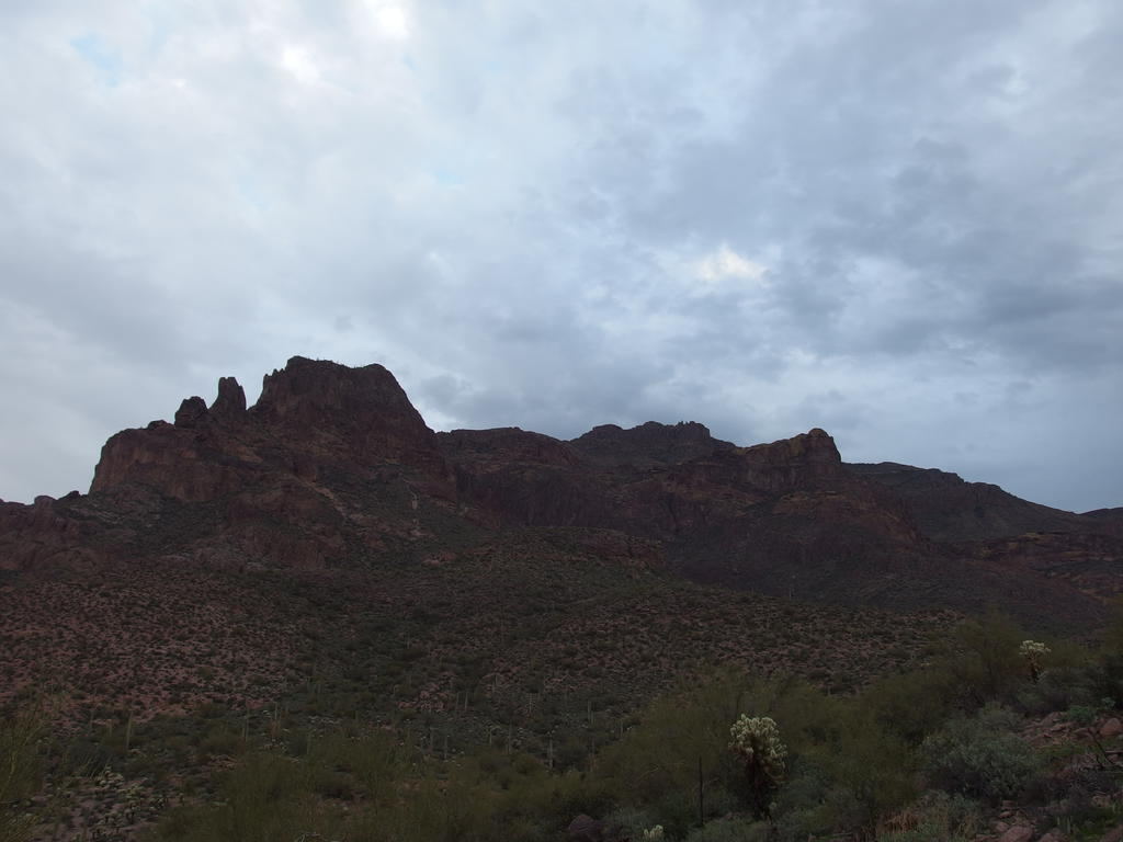 Blog | Superstition Peak via Hieroglyphics