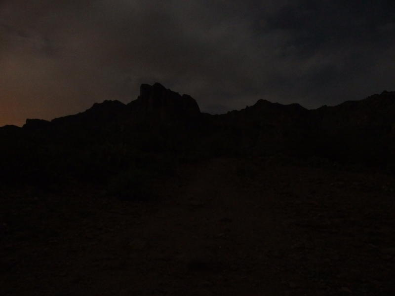 Darkness over the Superstitions