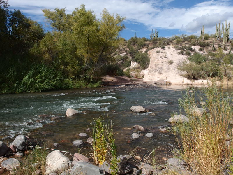 Red Creek Rapids, crossing spot on the Verde