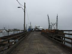 Large receiving dock at Westport