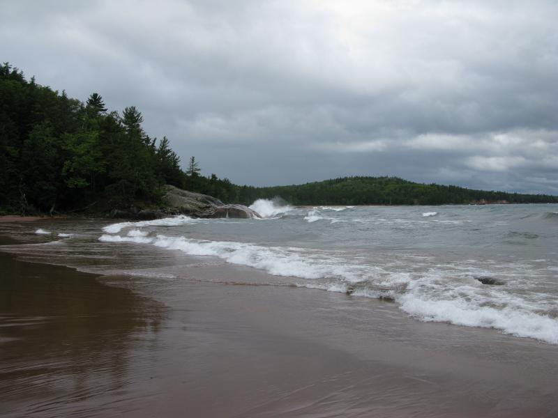 Sandy Cove on Wetmore Beach