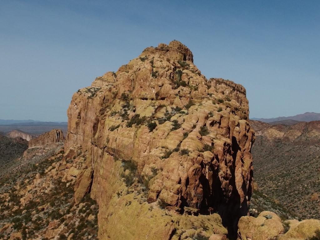 Blog | Battleship Mountain and Yellow Peak